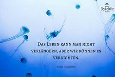 »Das #Leben kann man nicht verlängern, aber wir können es verdichten.« Roger #Willemsen... #Dankebitte #Sprüche #Gedanken #Weisheiten #Zitate