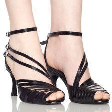 Satin Women Classic Tango Ballroom Latin Salsa Dance Heels Shoes High heels