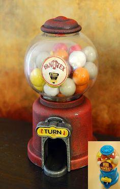 Vintage Gumball Machine!