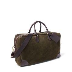 Suede Weekender Duffel Bag - New Arrivals  Men - RalphLauren.com