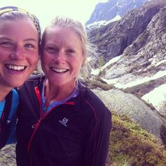 Anna Frost and Emelie Forsberg