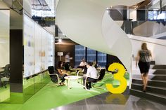 HASSELL | Projects - National Foods Workplace
