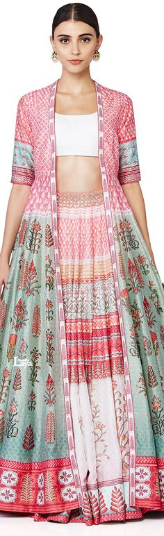 Love Notes by Anita Dongre India Fashion, Ethnic Fashion, Asian Fashion, Women's Fashion, Western Dresses, Indian Dresses, Indian Outfits, Indian Attire, Indian Ethnic Wear