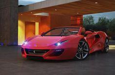 Aldo Schurmann's Ferrari FT12 Mid-Engine Concept