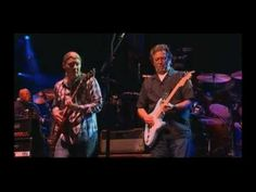 Allman Brothers Band With Eric Clapton - Key To The Highway 2009 - YouTube