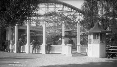 ~Rides at Lakeside Amusement Park in 1911~