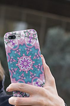 May your Sunday be bright and colorful ☸️ Phone case for iPhone or Samsung. #mandalacase #iphonecase #samsungcase Samsung Cases, Iphone Cases, Cute Phone Cases, Mandala, Sunday, Bright, Colorful, Domingo, Iphone Case