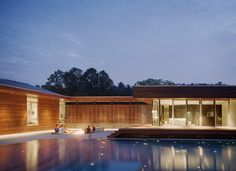 Curved House - modern - pool - kansas city - Hufft Projects