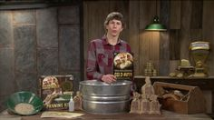 Parker from the Discovery hit TV show Gold Rush explaining how to find details on the GoldRush PayDirt panning kit.