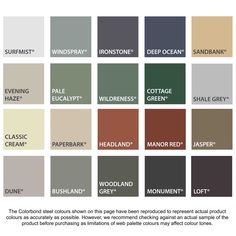 Find Skylight Accessory Acol Colourbond Colour Match at Bunnings Warehouse. House Paint Exterior, Exterior House Colors, Exterior Design, Metal Roof Colors, Shed Colours, Fence Paint Colours, Metal Roof Houses, House Roof, Colourbond Colours