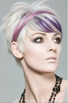Google: rezultat iskanja slik za http://www.showhairstyle.com/wp-content/uploads/2011/06/short-hairstyle-with-volume-on-top-for-thin-hair-blonde-purple-color-20111.jpg