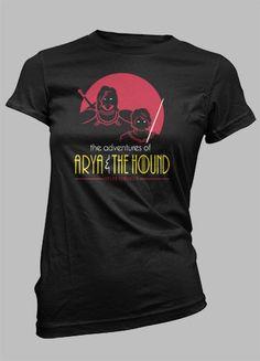 Arya & The Hound Women's Basic T-Shirt | The T-Shirt Vault