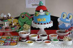 Pokemon party food