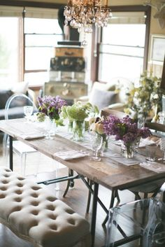 12 Tablescape Ideas for the Prettiest Easter Brunch EVER via Brit + Co.