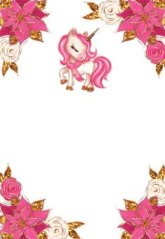 Unicorn Birthday Parties, Unicorn Party, Birthday Invitations, Invites, Bunny Art, Baby Memories, Baby Shower Invitation Templates, Magical Unicorn, Beauty Full Girl