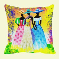 Mesleep Hat Girls Digitally Printed Cushions Cover Pack Of 1 Cushion Covers on Shimply.com