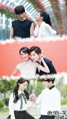 Wallpaper edited by - me Cute Love Stories, Love Story, Asian Actors, Korean Actors, Yang Yang Zheng Shuang, Love 020, Kdrama, Yang Yang Actor, Chines Drama