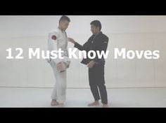 12 Must Know Moves For White Belts. This is great for white belts or others needing a basics refresher! Great video! #bjj #jiujitsu #jiujitsulifestyle