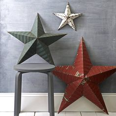 amish metal barn star by the original home store | notonthehighstreet.com
