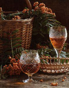 Brandy, baskets & berries