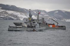 """Con positivo balance finalizó el ejercicio naval combinado, """"Viekaren"""" Chile-Argentina"""