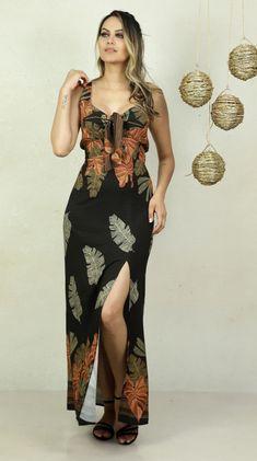Tropical, Plus Size, Lifestyle, Dresses, Fashion, Vestidos, Pen And Wash, Block Prints, Outfits