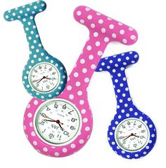 Get your Polka Dots!!! Healthcare Watches at www.nursewatches.com See the biggest selection now!!