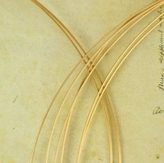 You Pick the Gauge 14kt Rose Gold Filled Wire 16 to 26 Half Hard 14 Troy ounce