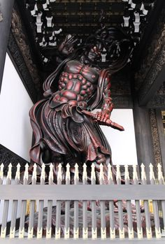 "https://flic.kr/p/eeKLC4 | Buddhist statue 仏像 - 念佛宗(念仏宗無量寿寺) 山門 仁王像008 | ▷www.youtube.com/user/asusume ▷www.facebook.com/Nenbutsushu ▷www.nenbutsushuart.tumblr.com/ ▷www.nenbutsushu.or.jp/ Nenbutsushu Sanpouzan Muryojuji ""The Royal Grand Hall of Buddhism"" 念佛宗(念仏宗無量寿寺) 総本山 兵庫県加東市"