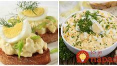 Prvotriedny vajíčkový šalát so syrom: Keď čakám návštevu, na chlebíčky a jednohubky nič lepšie neexistuje! Potato Salad, Mashed Potatoes, Salads, Cooking, Ethnic Recipes, Food, Whipped Potatoes, Kitchen, Smash Potatoes