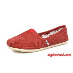 #topfreerun3 com Save Up To 69%,$18.95 New Arrival Toms women shoes Red
