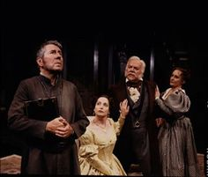 "Molière's 'Tartuffe', with Brian Bedford as Tartuffe, Lucy Peacock as Elmire, James Blendick as Orgon, and Seanna McKenna as Dorinne (Stratford Fest., 2000; presented also in 1983, with BB as T!) ""As confections go, 'Tartuffe' is one of Moliere's best - a witty send-up of a pious scoundrel and the family he dupes.  Add to that Bedford in the title role, as that pious scoundrel, in a translation by Richard Wilbur, and it's nothing short of,... delicious."" John Coulborn... Enjoyed it."