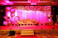 Best site to plan a modern Indian wedding, WedMeGood covers real weddings… - Carla's Decoration Ideas Reception Stage Decor, Wedding Stage Backdrop, Wedding Stage Design, Wedding Hall Decorations, Marriage Decoration, Wedding Entrance, Engagement Decorations, Wedding Gate, Entrance Decor