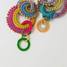 pretty crochet earings or anything