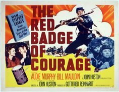 The Red Badge Of Courage 1951    Civil War Drama Movie Audie Murphy, Bil...