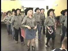 Country Line Dance - Canadian Stomp - Musique : Any Man of Mine (Shania...