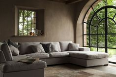 Sofa at home Interior, Home, Sofa Design, House Styles, New Homes, House Interior, Home Deco, Home And Living, Home Decor Furniture