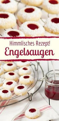 Himmlische Weihnachtsplätzchen mit Marmelade: Rezept für Engelsaugen Best Picture For tea biscuits For Your Taste You are looking for something, and it is going to tell you exactly what you are lookin