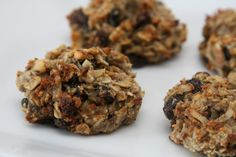"Oatmeal Banana ""Conception Cookies"" - sugar free, gluten free, wheat free."