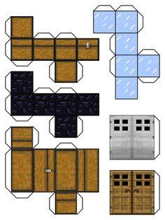 Minecraft Papercraft Blocks | minecraft blocks 6 by ~Dylan-A-King on deviantART