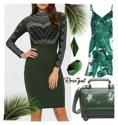 """Print dress"" by kiveric-damira ❤ liked on Polyvore"
