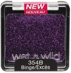 Wet n Wild Color Icon Glitter Single Purple Tattoos, Wet N Wild, Colorful Makeup, Eyeshadow, Beauty, Dupes, Glitters, Nails, Summer