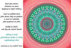 *PODLE TÉMAT | Mandala na každý den Outdoor Blanket, Symbols, Motivation, Glyphs, Icons, Inspiration