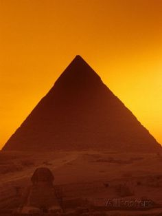 Photographic Print: Pyramid of Khafre and Sphinx, Giza Plateau, Old Kingdom, Egypt by Kenneth Garrett : Around The World In 80 Days, Places Around The World, Around The Worlds, Great Places, Places To See, Beautiful Places, Amazing Places, Pyramids Egypt, Giza Egypt
