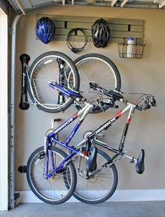 Steadyrack vertical bike storage rack – Revel Garage Store - Ikea DIY - The best IKEA hacks all in one place Vertical Bike Storage, Bike Storage Rack, Garage Storage, Storage Spaces, Garage Bike Rack, Storage Ideas, Diy Garage, Garage Organization Bikes, Garage Room