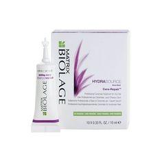 Matrix Biolage Hydrasource Cera-Repair Drėkinamasis plaukų koncentratas 10x10ml