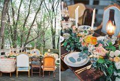 Chic Shabby Chair Mix | #chicshabby #weddingchairs #chairs