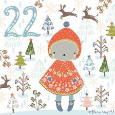 Flora Waycott Christmas Advent 2014 DAY 22 - My favourite little winter coat! xx