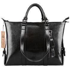 S-ZONE 3-Way Women's Genuine Leather Shoulder Tote Bag Handbag - http://leather-handbags-shop.com/s-zone-3-way-womens-genuine-leather-shoulder-tote-bag-handbag/
