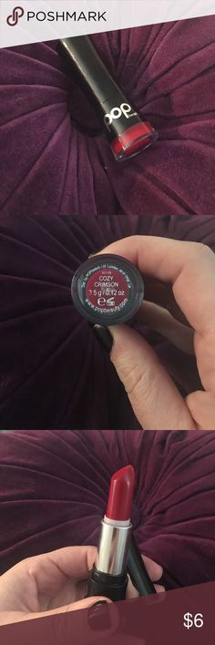 Brand new Red Lippie Brand new, never used or swatched. No trades. Pop Beauty Makeup Lipstick